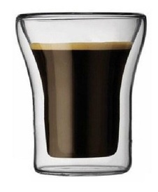 Double Walled Thermal Coffee Glasses