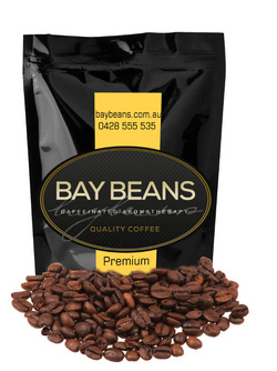 Bay Beans Premium Reserve coffee beans