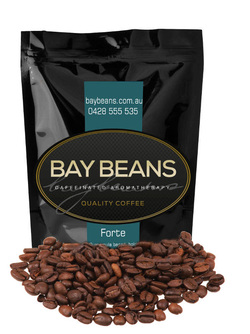Bay Beans Forte coffee beans
