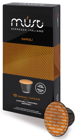 Bay Beans Forte Sublime coffee capsule for Nespresso