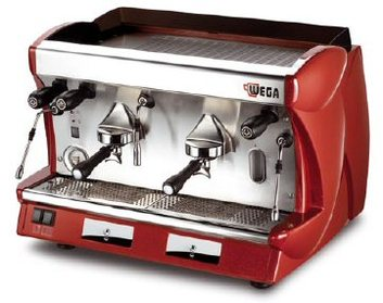 Wega 2 group commercial coffee machine