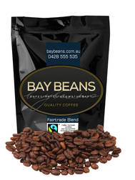 Bay Beans Fairtrade 500g coffee beans  (Free Delivery) $32.70