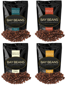 Bay Beans Variety Pack coffee beans