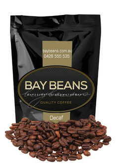 Bay Beans decaf coffee beans