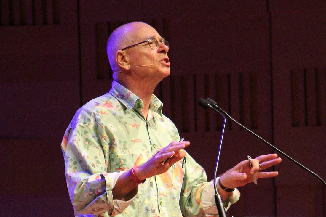 Dr Karl as pictured in Australia 2014 - the science guy for the people
