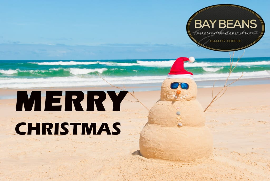 Merry Christmas Bay Beans Coffee Beans